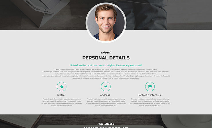 highclass wordpress portfolio